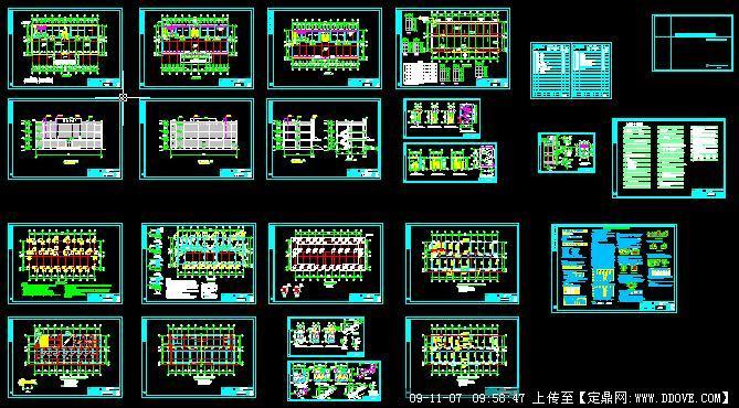 三层厂房建筑设计方案图片CADv厂房图纸CAD线条变成怎么把全套图片