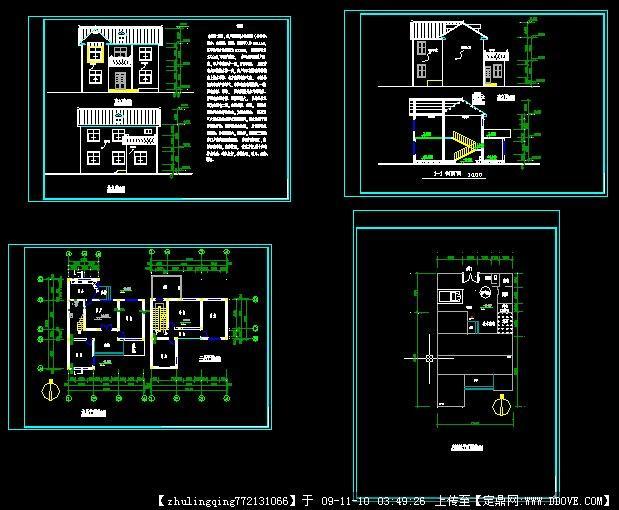 新农村自建房设计图; 定鼎网 网聚天下建筑精英;