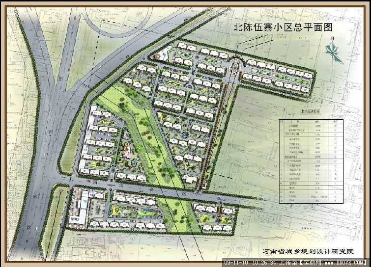 北陈五寨小区规划的下载地址,园林方案设计,居住区,_.