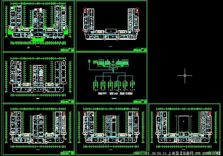 山东某学院电缆电视设计图