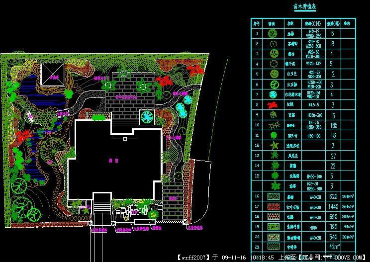 论坛密码CAD平面图cad别墅庭院找回怎么图片