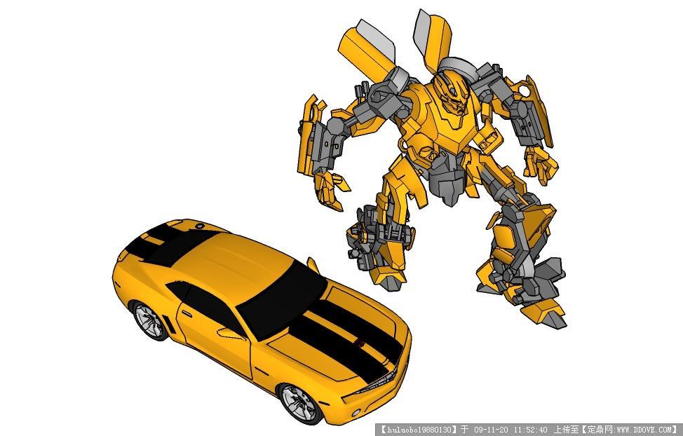 机械skp-车,机器人图片