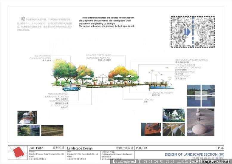 小区手绘图的图片浏览,园林效 果图,居住区,园林景观