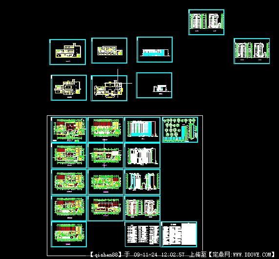 医院建筑设计全套cad施工图