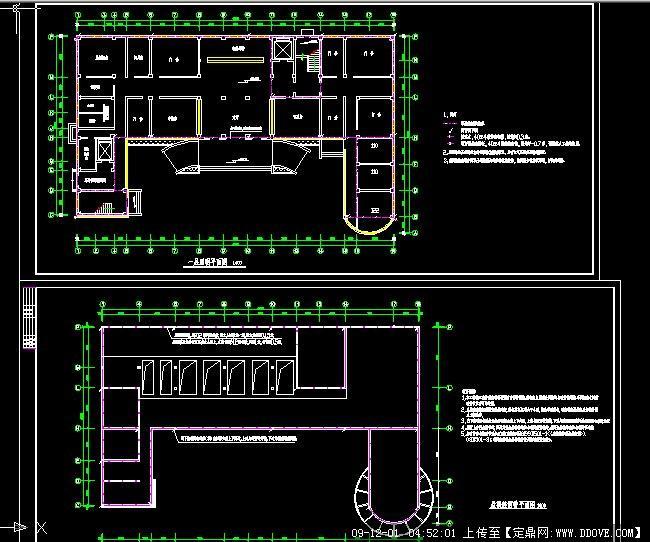 医院电气平面图