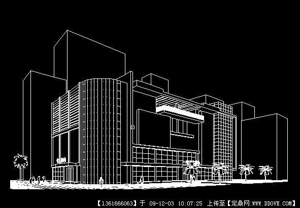 数量建筑设计cad商业图cad自动计算中方案块相同图图片