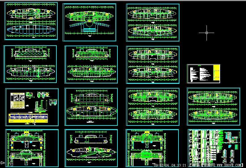 市政府办公楼电气图