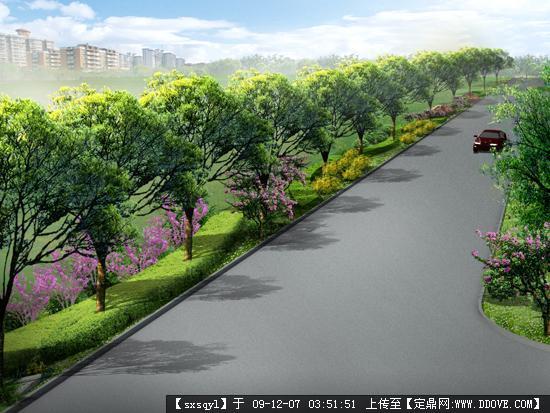 苏州工业园区景观绿化有限公司_西安景观绿化_别墅绿化景观效果图