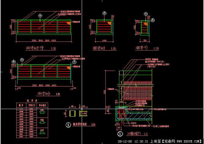 阳台详图的下载地址,建筑方案图纸,居住建筑,建筑设计