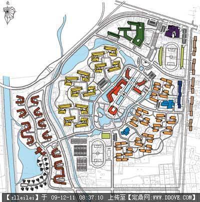 校园景观规划-50-建筑功能分布图.jpg