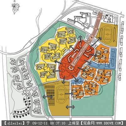 校園景觀規劃-51-公共空間體系圖