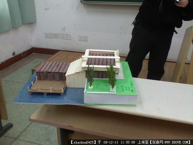 建筑模型-临水茶室设计模型 (8 ...