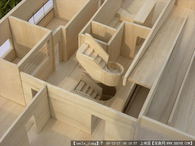 萨伏伊农村图纸的图片v农村,三维模型,建筑模型免费2木质模型小别墅层半图片