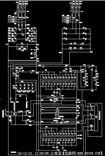 变电所直流系统原理图