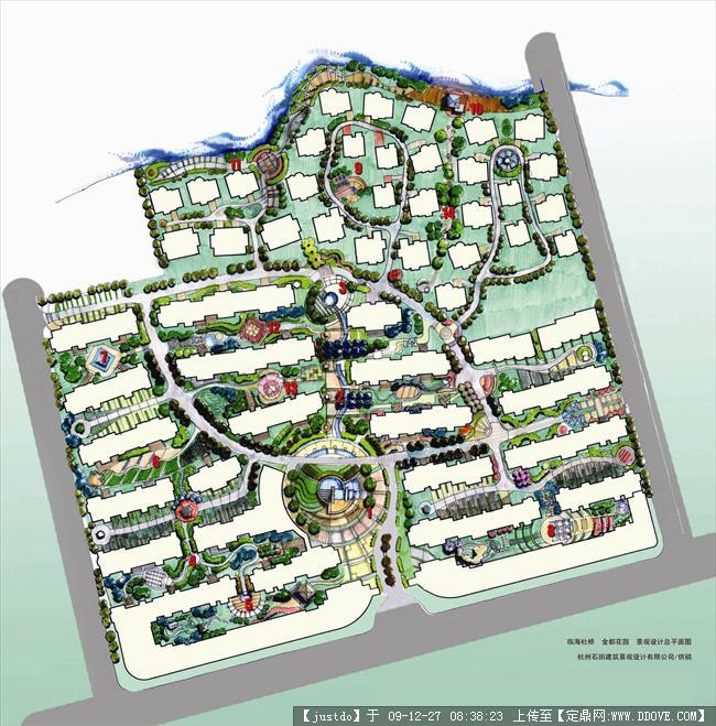 jpg; 第五园总平面图; 园林苗圃设计总平面图
