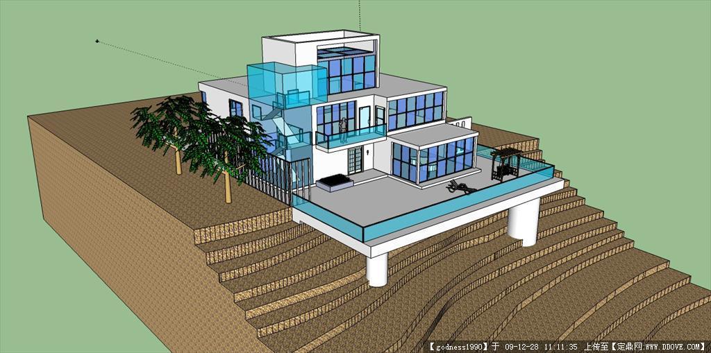 美sketchup模型图片