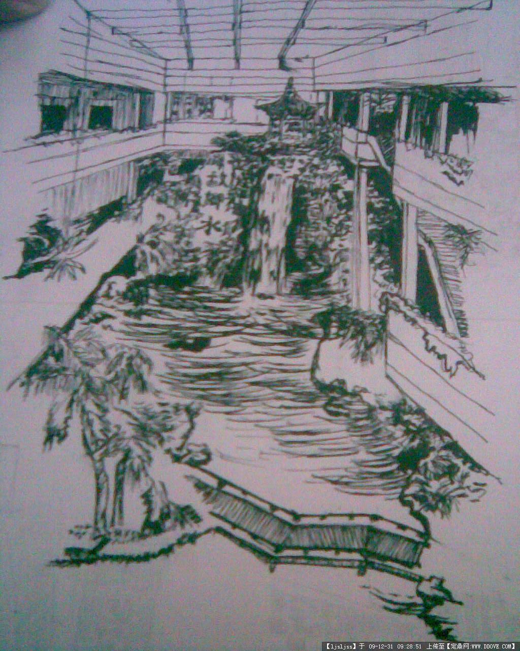 手绘布达拉宫