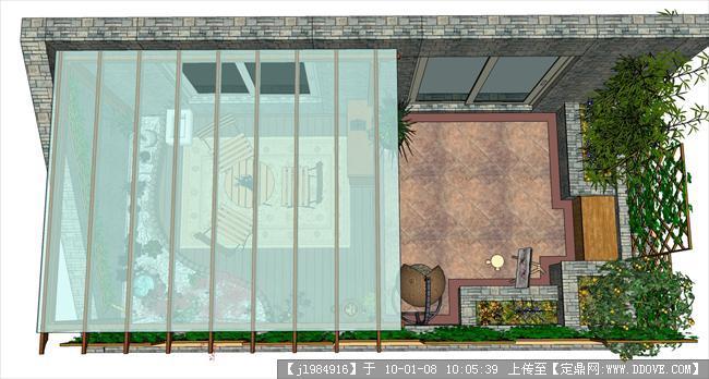 庭院——屋顶花园设计方案