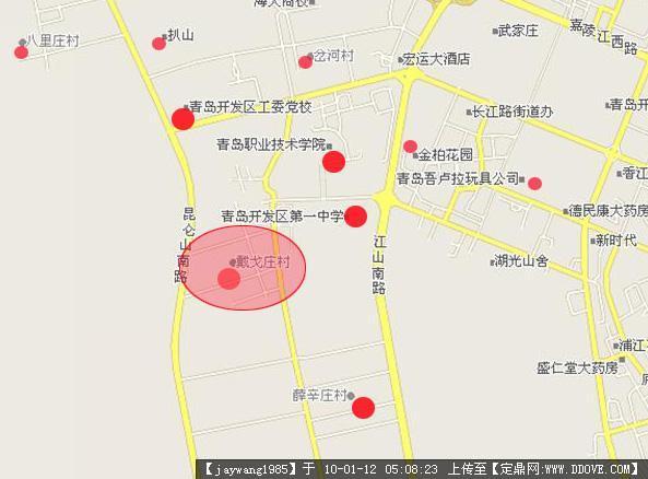 青岛某小区规划-周边环境分析