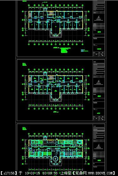 某酒店设计方案平面图