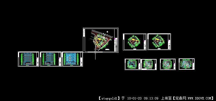 匯星大廈建筑(戶型)平面設計圖
