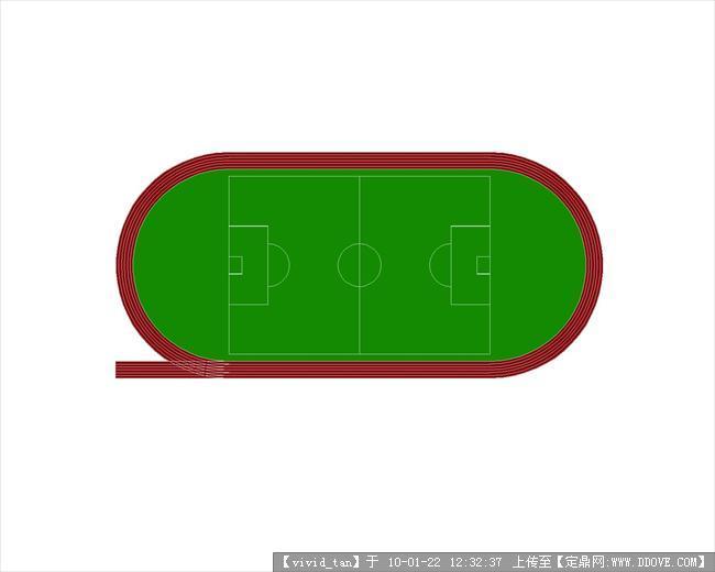 标准运动场的psd平面图例5种