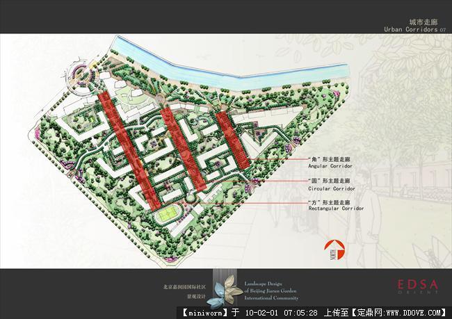 edsa北京嘉润园国际社区全套景观设计文本-007-城市走廊.jpg