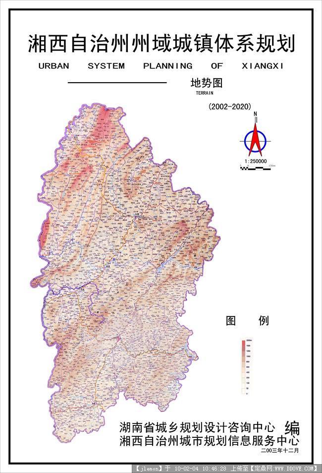 湘西旅游景点分布图