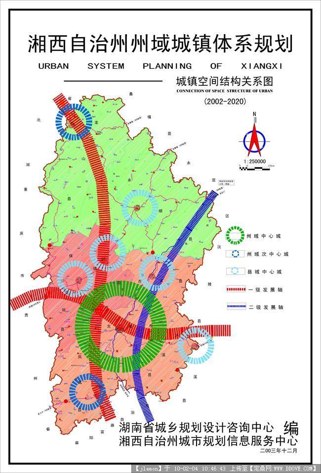 湘西州体系规划-图10 空间结构图-model.jpg