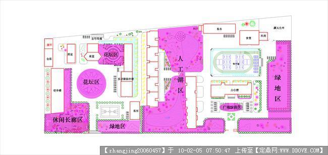 校园景观规划设计-景观分析图.jpg