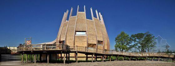 荷兰动物园长颈鹿小屋