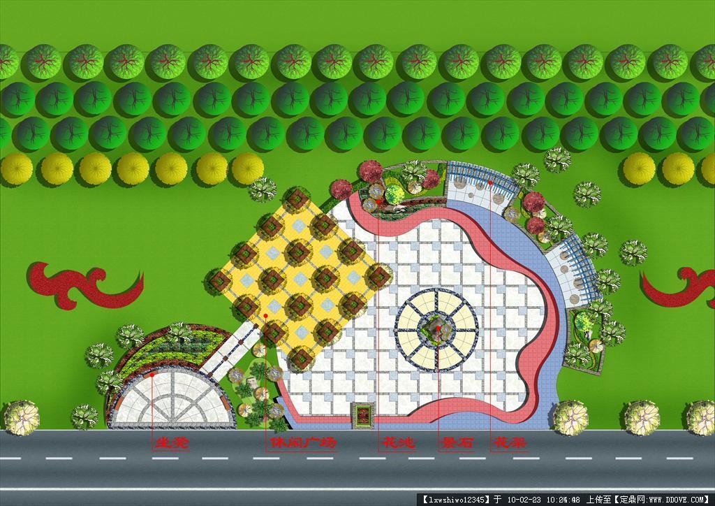 广场设计图的图片浏览,园林方案设计,城市广场,园林_.
