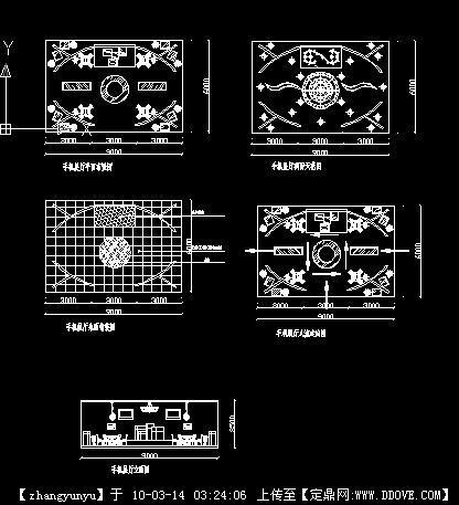 展厅电路布置图