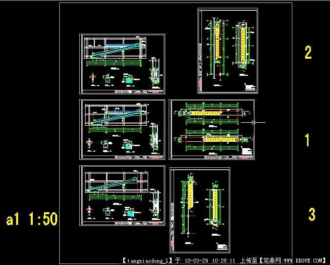 电梯安装平面图