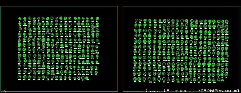 植物平面画法200种