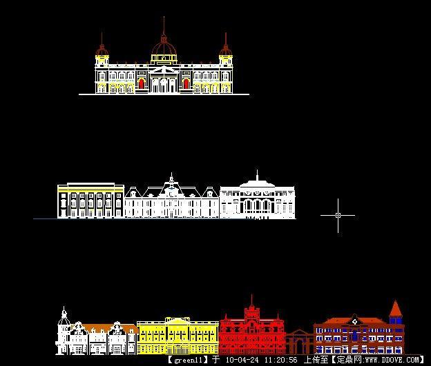 欧式建筑立面图