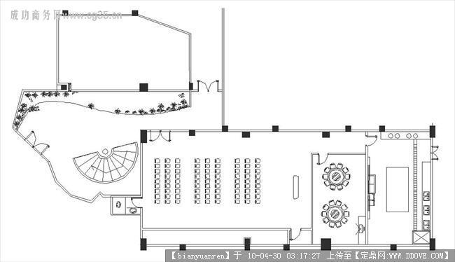 博物馆设计-办公室一层平面图.jpg