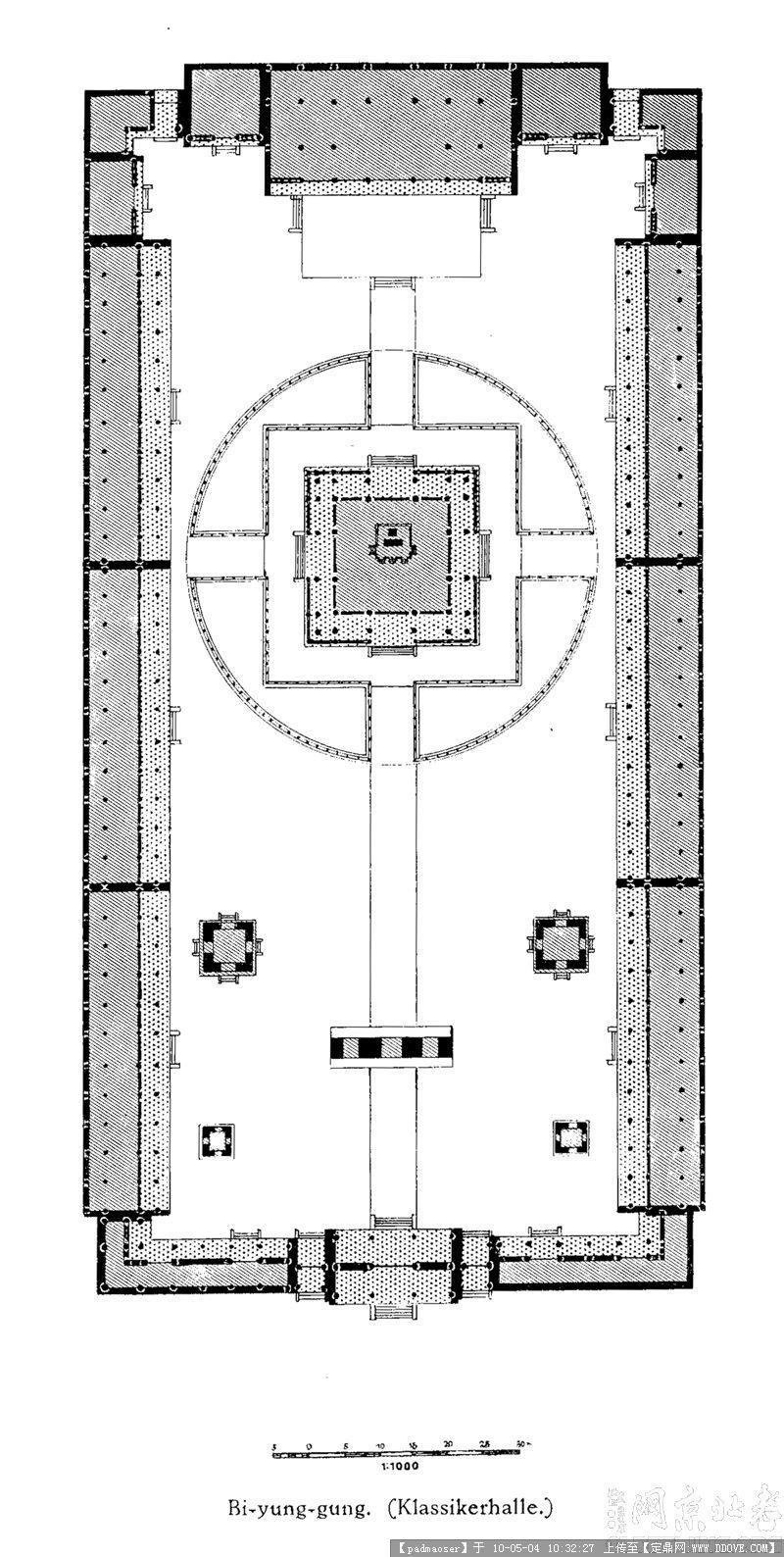 北京寺庙平面图