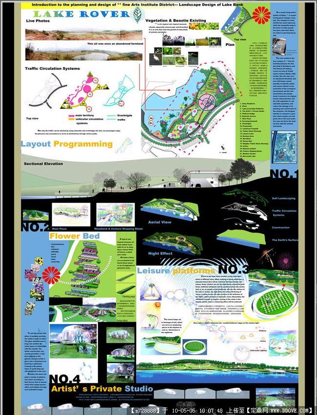 校园生态环境设计-展板一张窗体设计创建视图图片