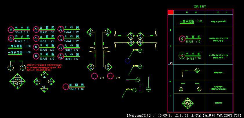 v图纸图纸CAD图块符号室外线素材登高图片