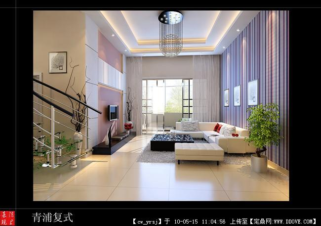 青浦别墅图片效果图-大图的客厅浏览,室内效果别墅系统配电图图片
