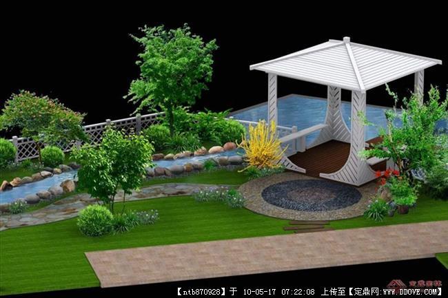 屋顶花园设计方案图+效果图集合
