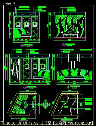 ktv小包厢平面图;