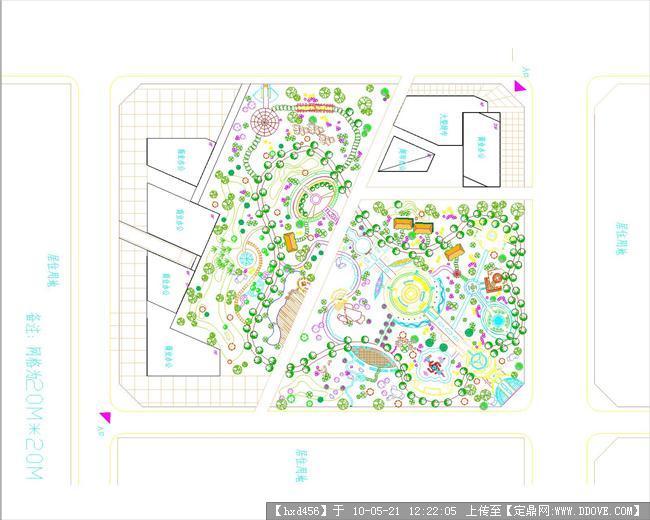 公園景觀節點效果圖; 公園平面設計圖; 臥龍山諸葛公園圖片分享;