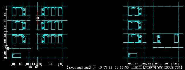 老人院-小二楼平面图 二层