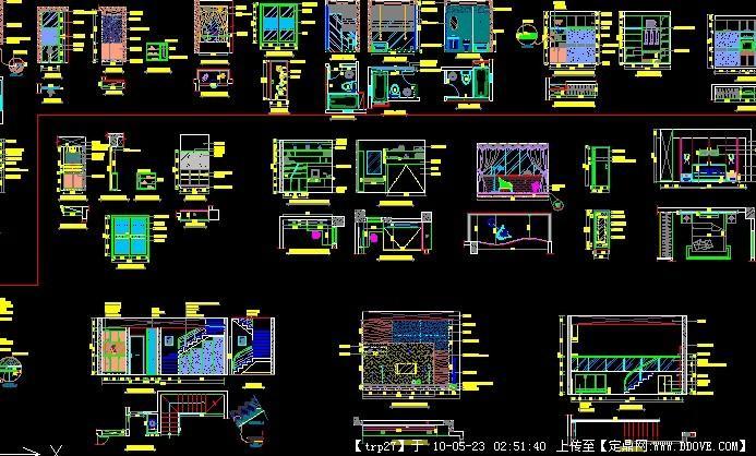 一套完整的室内设计方案施工图v方案图纸整套有的别墅谁图片