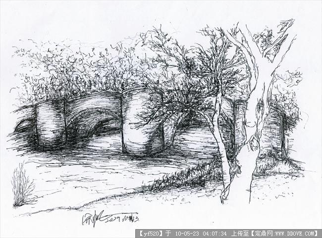 自己临摹的一些钢笔画-6张-9.jpg