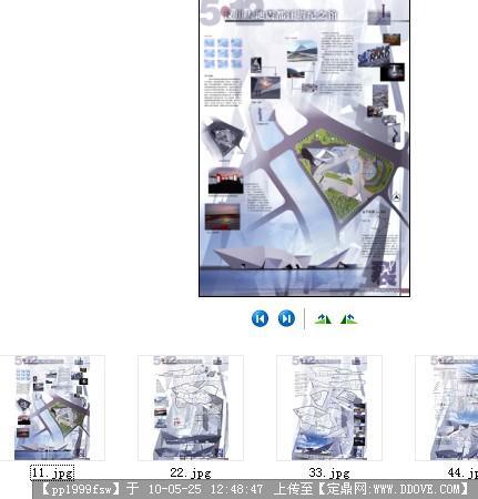 [原创]汶川地震纪念馆建筑设计展板4张-大图