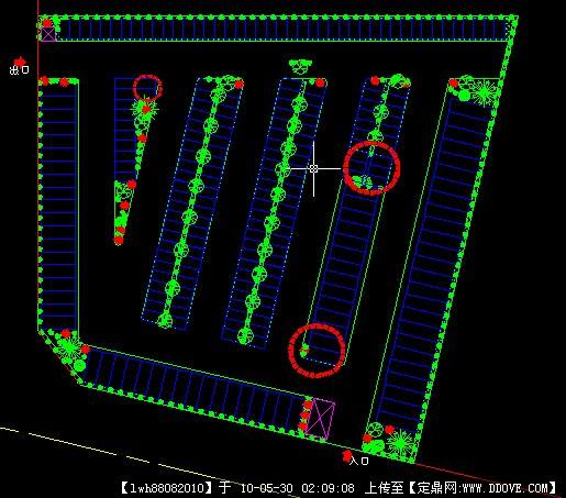停车场设计平面图1