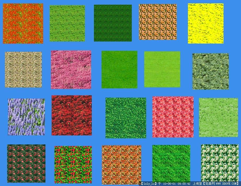 ps平面-植物平面图例素材的图片浏览,配景素材,园林
